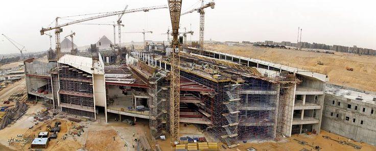 Nya bilder på det nya Egyptiska Museum som byggs i Kairo | LundinOrient´s Egypten