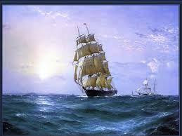 Résultats de recherche d'images pour «peinture bateau pirate»