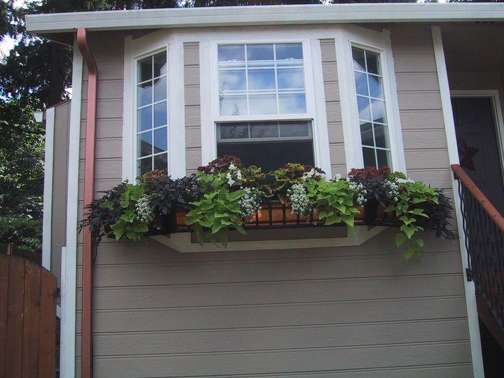 Bay window windowbox