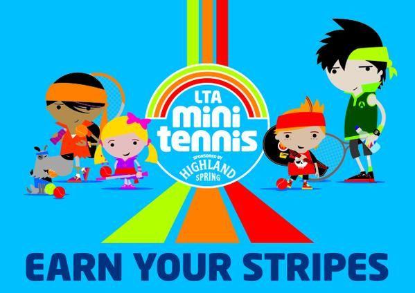 Kids - earn your #tennis stripes!