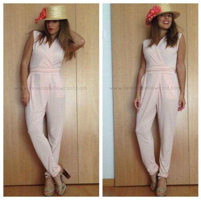 la reina del low cost blog de moda barata blog de chollos pilar pascual del riquelme blogger madrid blogger alicante mono largo verano 2014 look para comunion look con turbante botoncitos (5)