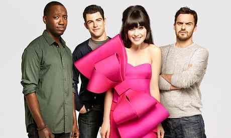 The cast of New Girl