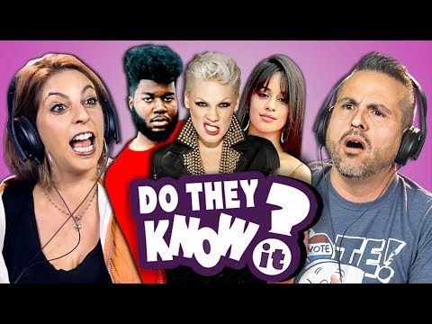 DO PARENTS KNOW MODERN MUSIC? #11 (REACT: Do They Know It?) - YouTube