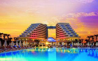 Hotel Miracle Resort, Lara, Turkije http://www.holidaycheck.nl/hotel-reisinformatie_Hotel+Miracle+Resort-hid_80457.html #Hotel, #Turkije, #Lara
