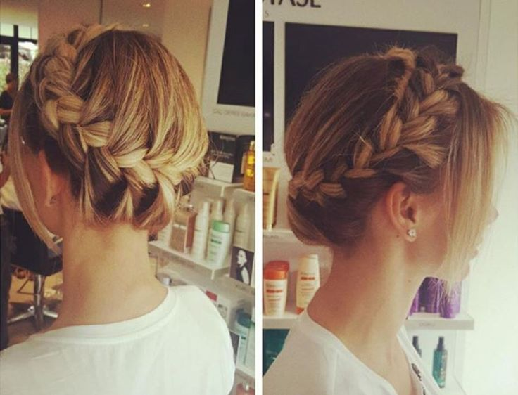 Braids Hairstyles – Bun Hairstyles – wedding hairstyles - 30 Best Braids bun Hairstyles