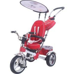 Lexus Trike GREAT ICON (MS-0595) белый  — 13000р. -------------- Размеры (ВхШхГ) 445x285x600 мм    Возраст ребенка От 1 года  Дополнительная информация  Первый 3-х колесный велосипед из коллекции Lexus Trike Original - велосипед-коляска. В производстве этого велосипеда мы использовали новейшие инновационные технологии и материалы, например Карбон, что позволило уменьшить вес велосипеда. Но, главной изюминка этого велосипеда сиденье. В нем можно изменять угол наклона спинки, вплоть до…
