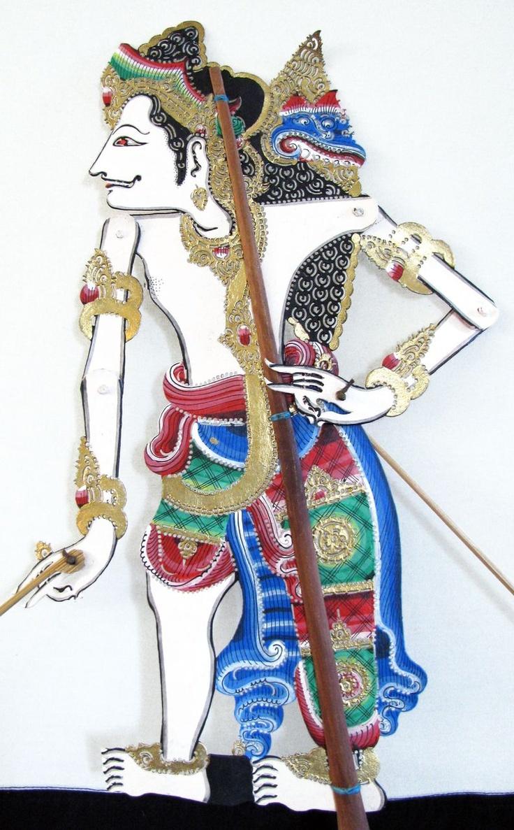 Wayang Kulit - Balinese shadow puppet