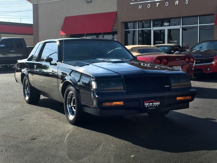 Gorgeous 1987 Buick Grand National GNX with 154 miles - Rare Cars ...