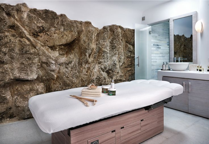 The Six Senses Spa Mykonos signature room!