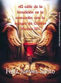 (PASBIOPAL): Feliz Jueves Santo