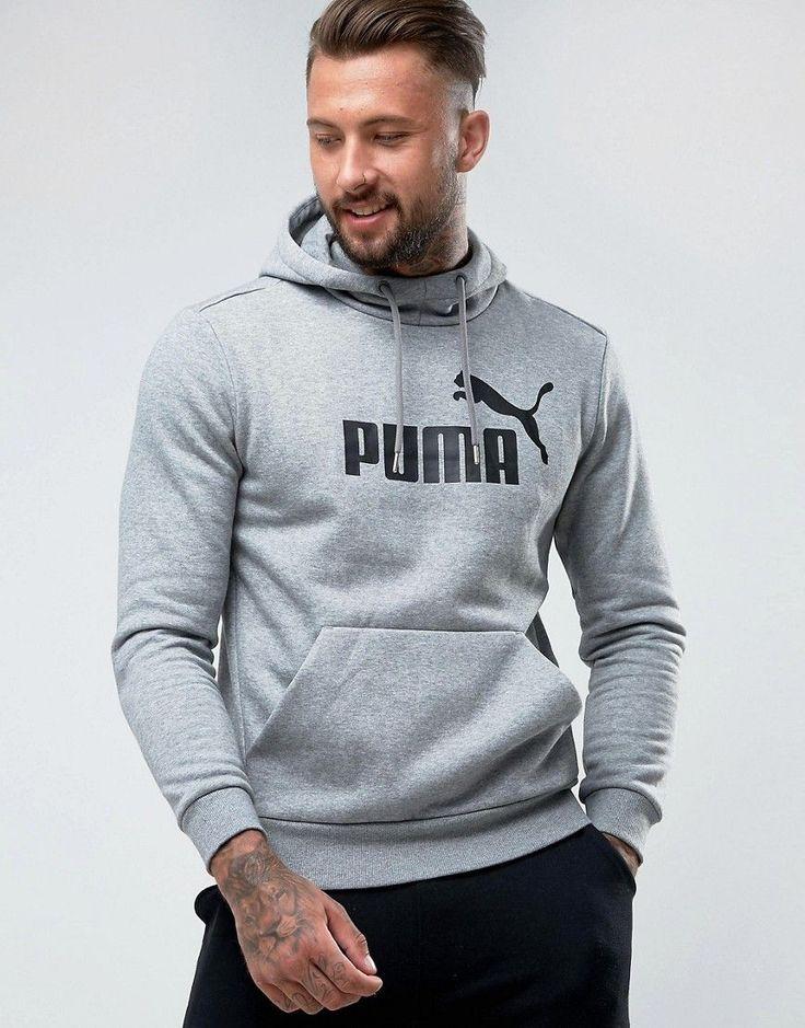Puma ESS No.1 Pullover In Gray 83825703 - Gray