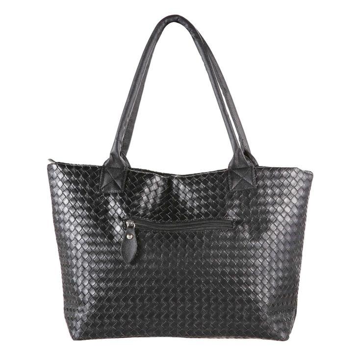 Casual Big Bag Fashion Damen Handtasche Weben Leder Handtasche Damen Handtasche Clutch sac ein haupt Bolsa Feminina
