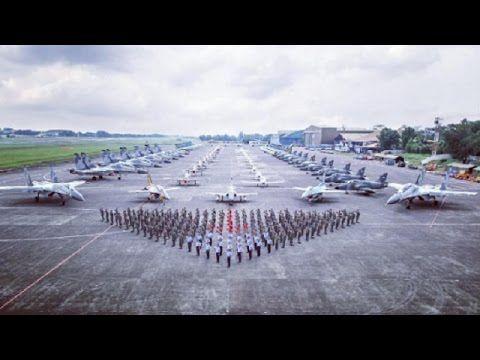 DETIK-DETIK ACARA HUT TNI AU 2017 KE 71 BIKIN BANGGA DAN MERINDING