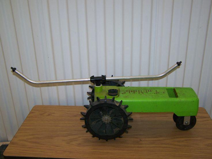 Nelson Traveling Tractor Sprinkler Parts : Best images about vintage garden water sprinklers on