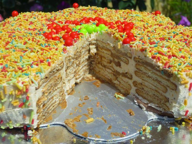 Tarta de galletas protuguesa o Bolo de bolachas Ana Sevilla cocina tradicional