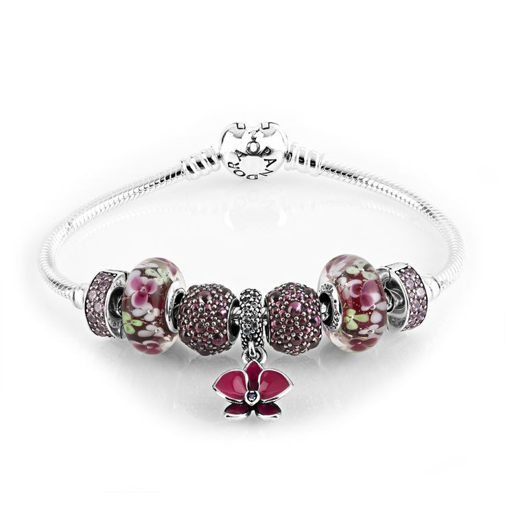 Pandora Oriental Orchid Complete Bracelet CB621