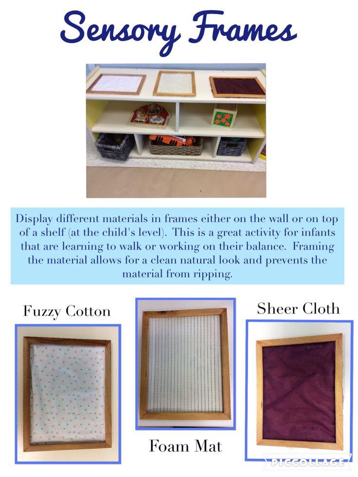 Trillium Child Care Centre: Texture Frame.