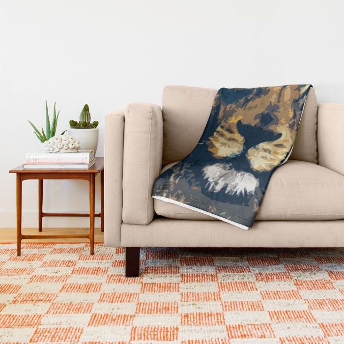 Buy King Throw Blanket by Animilustration. Worldwide shipping available at Society6.com. Just one of millions of high quality products available.