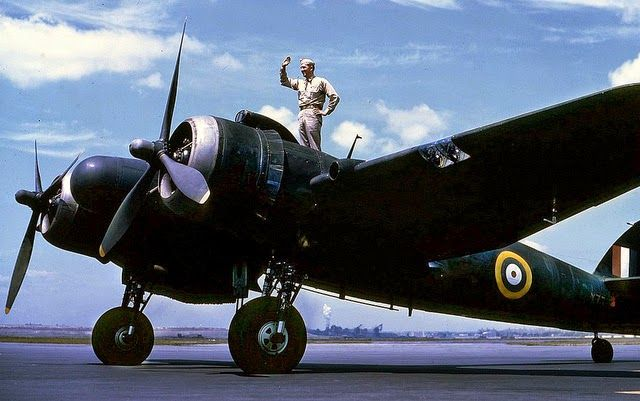 Bristol 'Beaufighter' Mk.I This thimble nosed Beaufighter, X7718 was on a State-side visit at Orlando airbase Florida, in 1942.
