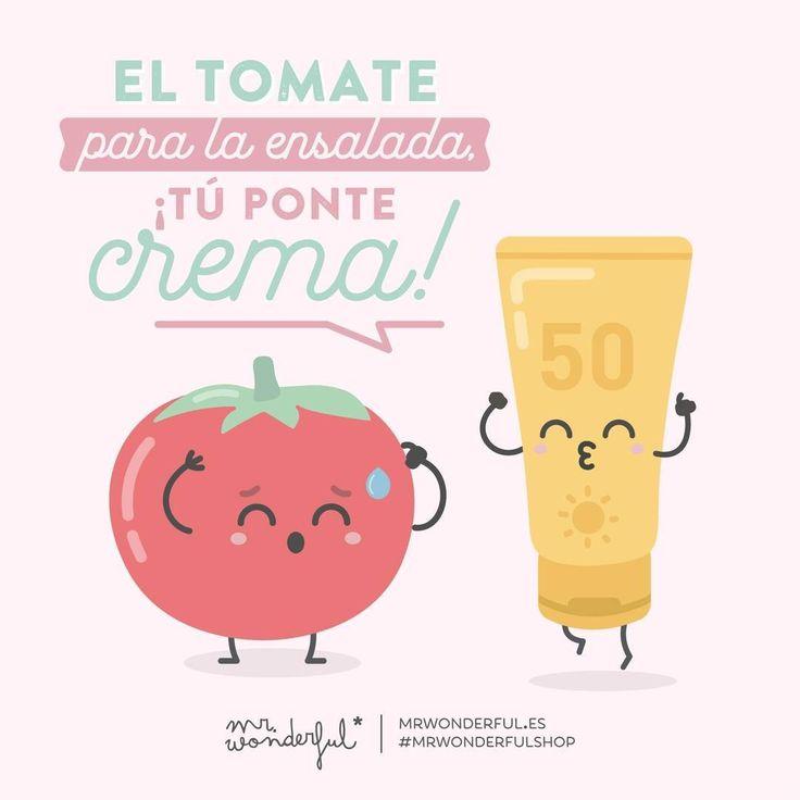 Aviso a navegantes, ni rojo tomate ni rojo gamba. #mrwonderfulshop #quotes #summer