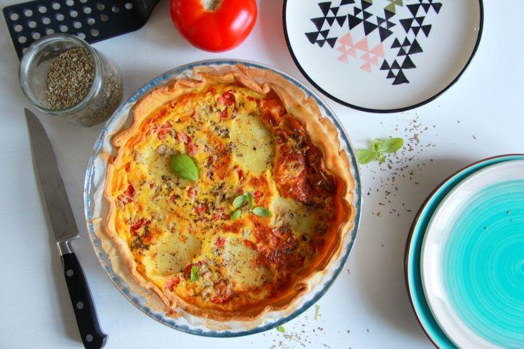 Quiche au thon, Retrouvez des recettes gourmandes et légères avec Daylice de Bridélice : trouvez l'inspiration pour vous simplifier le quotidien !