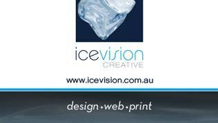 Ice Vision Creative - At Ice Vision, we understand the importance of designing and maintaining a renowned business identity. Our services aim to offer all our clients the best in graphic design, web design, printing and corporate branding ...