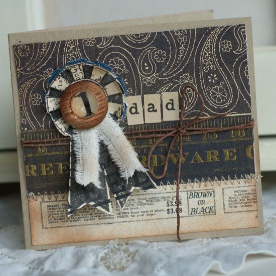 Love this masculine card