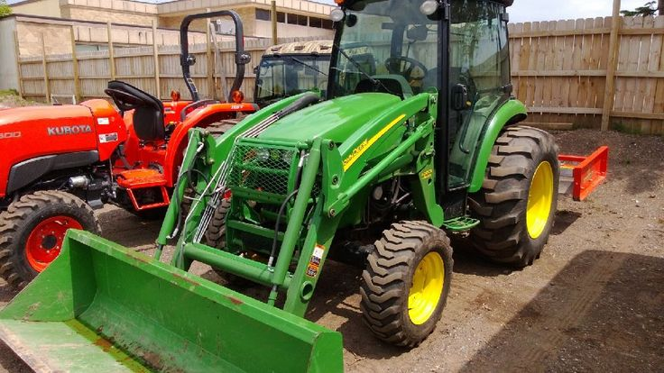 Michigan Sales Used John Deere 4520 Tractor Marquette Get a Tractor