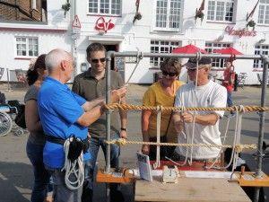 Knotting Practice Waterfest Weymouth