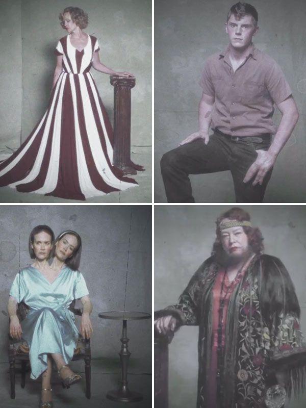 American Horror Story FREAK SHOW Entire Cast Revealed In First Full-Length Trailer  http://hollywoodlife.com/2014/09/08/american-horror-story-trailer-freak-show-season-4/  #hollywoodlife