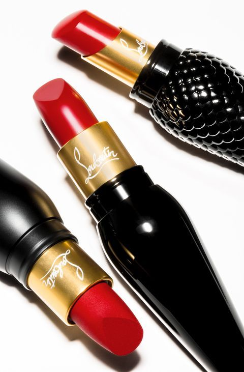 Christian Louboutin lipstick–available September 1.