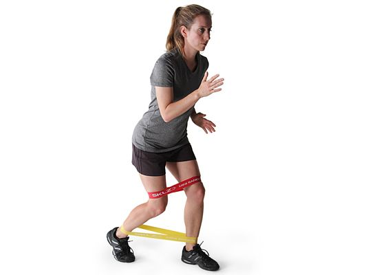 Get a tight butt in 10 minutes with this 4-exercise resistance band workout