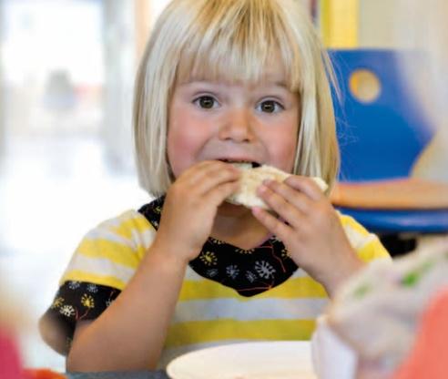 det fælles frokostmåltid - anbefalinger og inspiration til det sunde måltid.