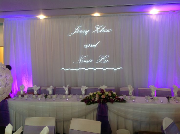 Light up your names for your bridal table backdrop. .houseofthebride.com. & 25 best Wedding Reception Backdrops images on Pinterest | Wedding ... azcodes.com