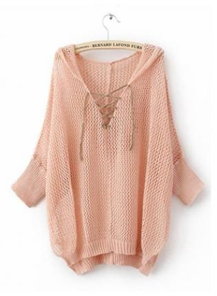 Love! Want!: Fashion Dresses, Dreams Closet, Soft Pink, Pastel Pink, Pink Tops, Hoods Hollow, Cozy Sweaters, Asymmetrical Sweaters, Hollow Asymmetrical