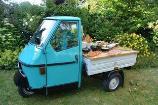 Italian Food Trucks - Mobiele Catering Concepten met een Italiaans Thema: Antipasti Italiani