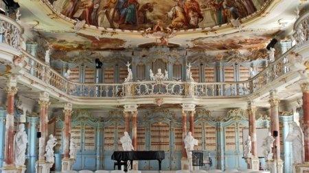 Bad Schussenried Bibliothekssaal (Baden-Württemberg, Germany)