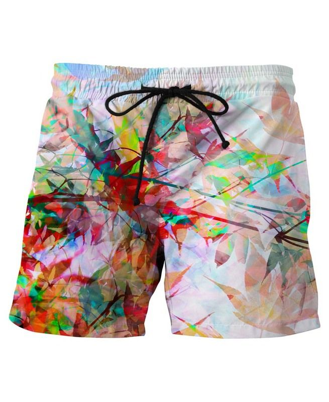 Abstract Autumn 2 en Short de bain par Mareike Böhmer | JUNIQE
