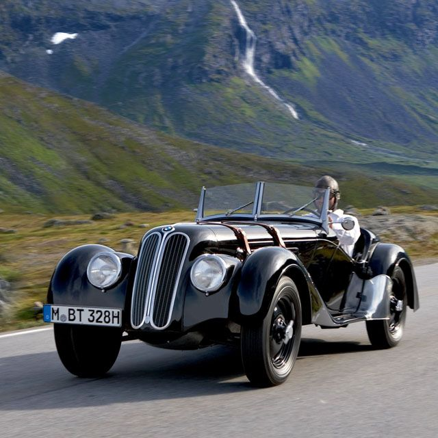 1936 BMW 328 Roadster; Fact- Hitler always wanted one, and he eventually owned one, but killed the man for it. Would you TRULY die to have this?