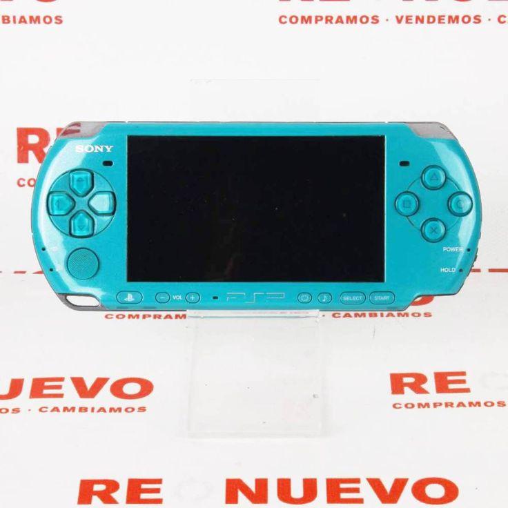 #Consola #PSP 3004 Verde + Cargador E270108 de segunda mano | Tienda de Segunda Mano en Barcelona Re-Nuevo #segundamano