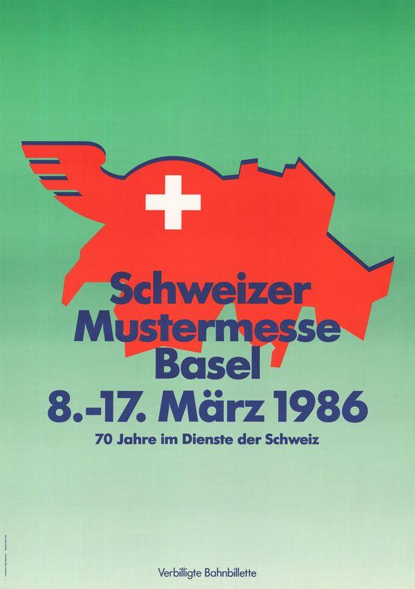 At. Bermann, Humbert + Vogt, Schweizer Mustermesse Basel, 1986