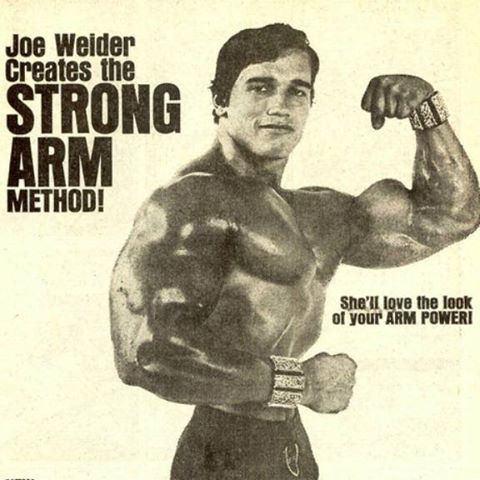 {  BUILD ARMS LIKE ARNOLD SCHWARZENEGGER  } ''How did Arnold build his iconic biceps? With hard work—and lots of it.''.....   http://www.muscleandfitness.com/workouts/arms-exercises/build-arms-arnold-schwarzenegger
