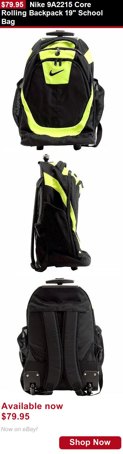 Unisex accessories: Nike 9A2215 Core Rolling Backpack 19 School Bag BUY IT NOW ONLY: $79.95