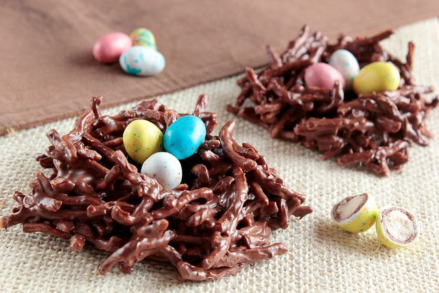 Chocolate Nests by pastryaffair,