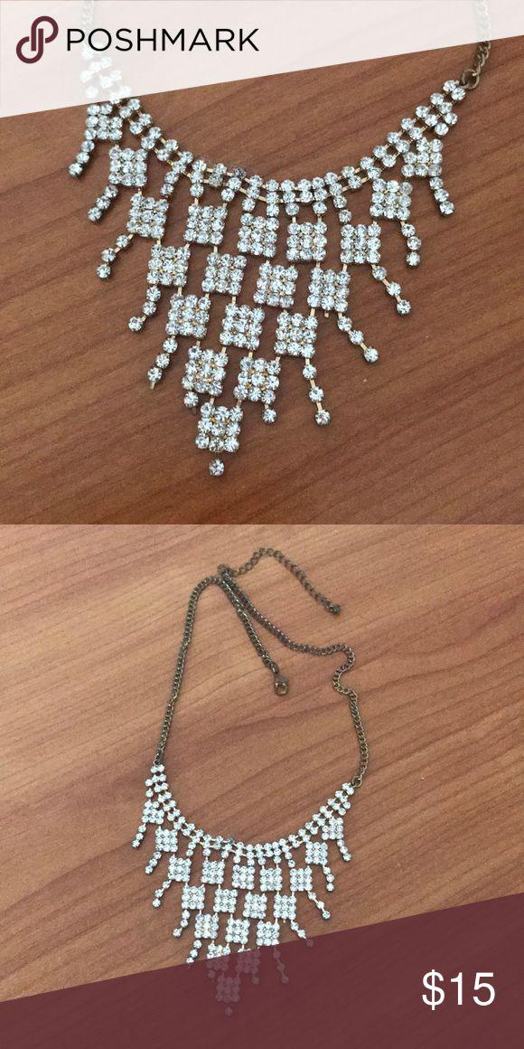 Faux Diamond Necklace Faux Diamond Necklace from Nordstrom! Nordstrom Jewelry Necklaces