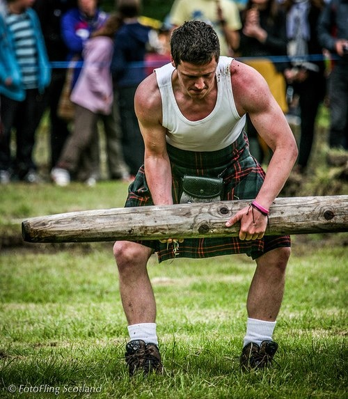 Highland games - is that a caber in your pocket or are you just happy to see me?