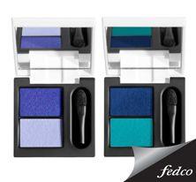 El azul es un tono noble y compatible con otros colores. #Makeup #Blue #Eyes  http://tienda.fedco.com.co/Catalogo/marcas/busqueda/Diego%20Dalla%20Palma