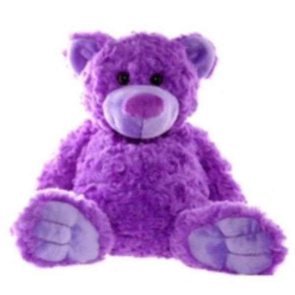 Bright Purple Teddy Bear - Rosie from Teddy & Friends