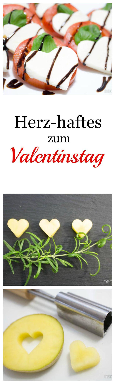 Leckere Ideen für das Valentinstags-Dinner mit dem oder der Liebsten | by Decorize