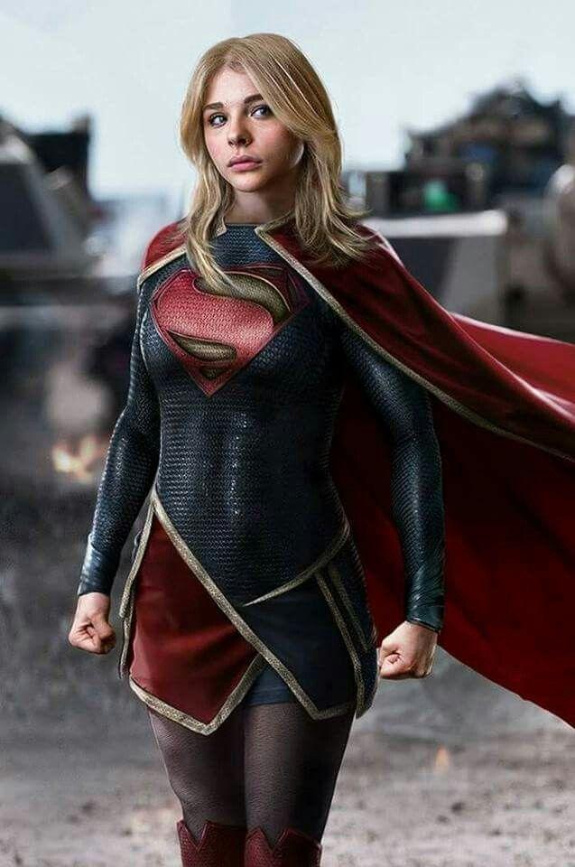 Chloe Grace Moretz as Kara Zor-El-Danvers / Supergirl.